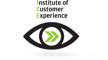 ICE logo - The Institute for Customer Experience from Human Factors International focuses on managing global customer experience design.