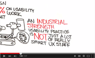 Building Industrial Strength UX video