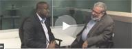 HFI video in which Abdul Noutcha of Standard Bank of South Africa discusses Change Management Toward a Sustainable UX Practice with Eric Schaffer of Human Factors International